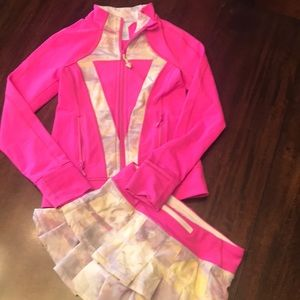 Ivivva skirt and jacket